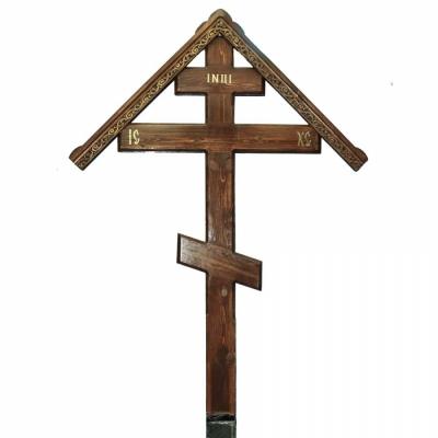Крест сосна №18 Киотка  р-р 250-110-5 см